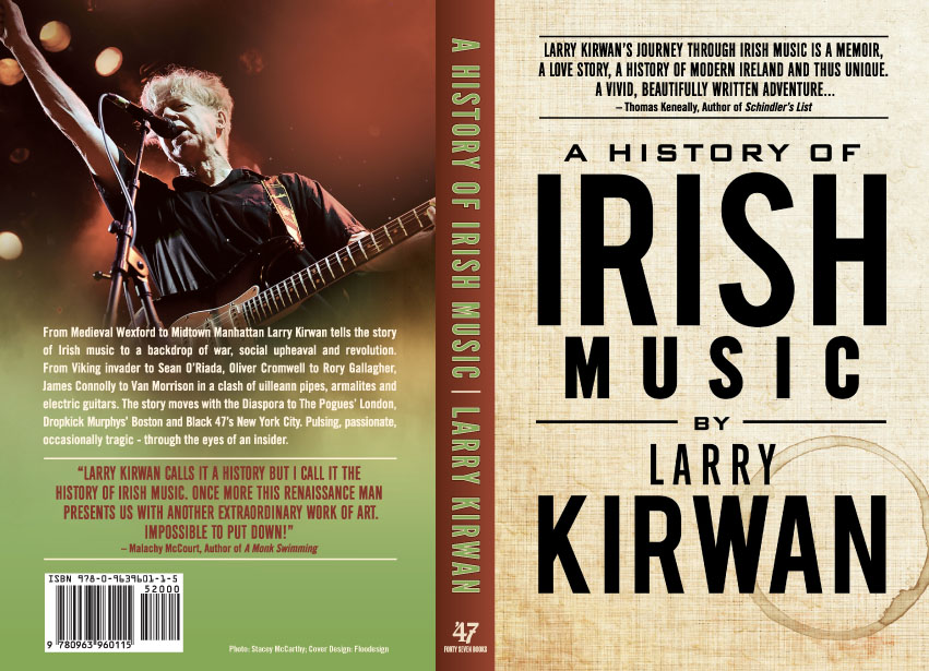 A History of Irish Music by Larry Kirwan